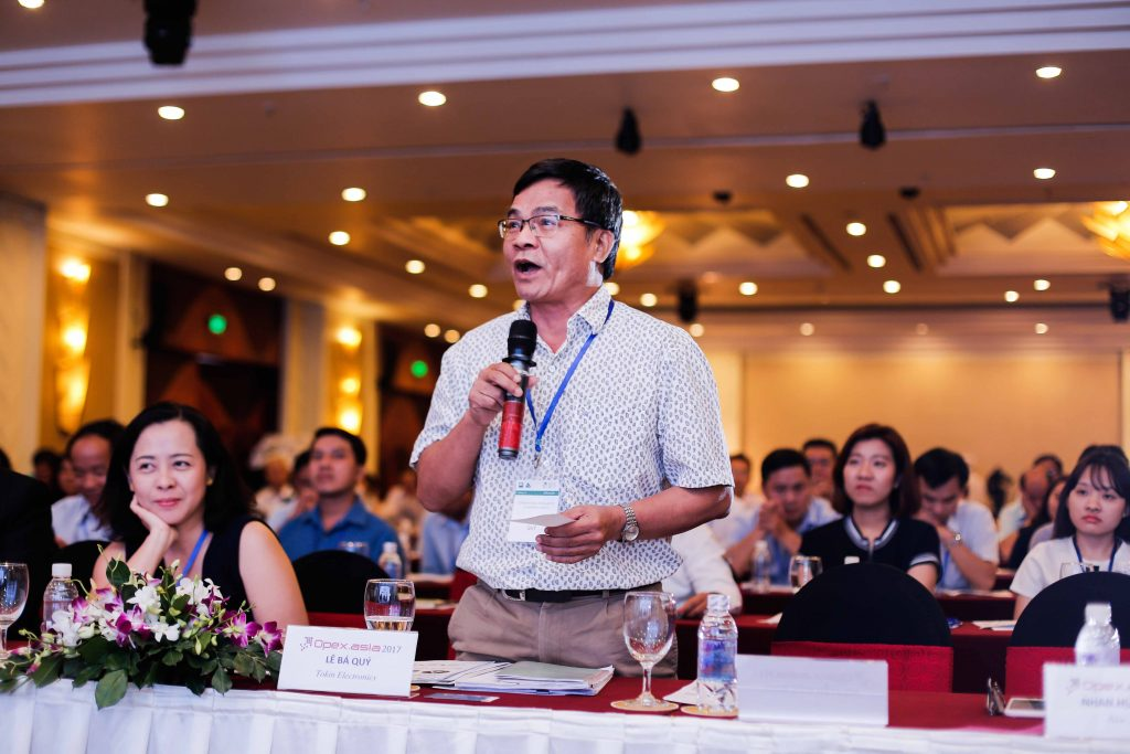 Chia sẻ tại Hội nghị Tối ưu hóa vận hành 2017