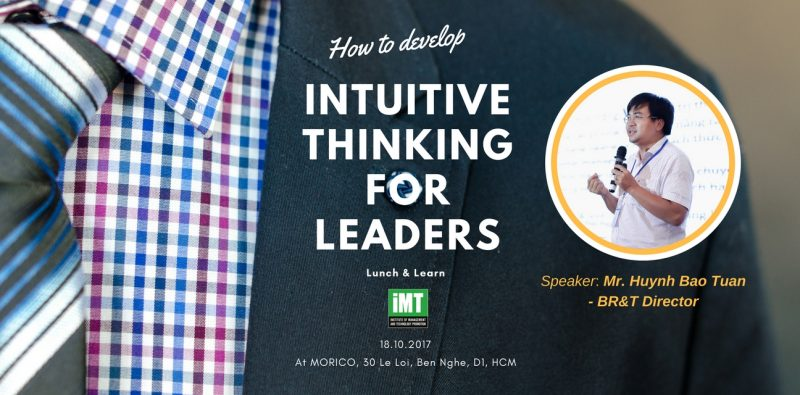 Lunch and Learn_Intuitive thinking for leaders