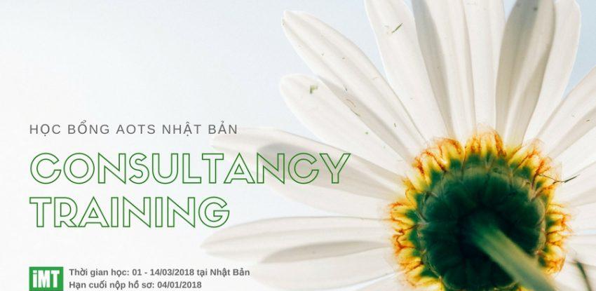 Hoc bong tu nghiep Nhat Ban_Consultancy training_Vien IMT